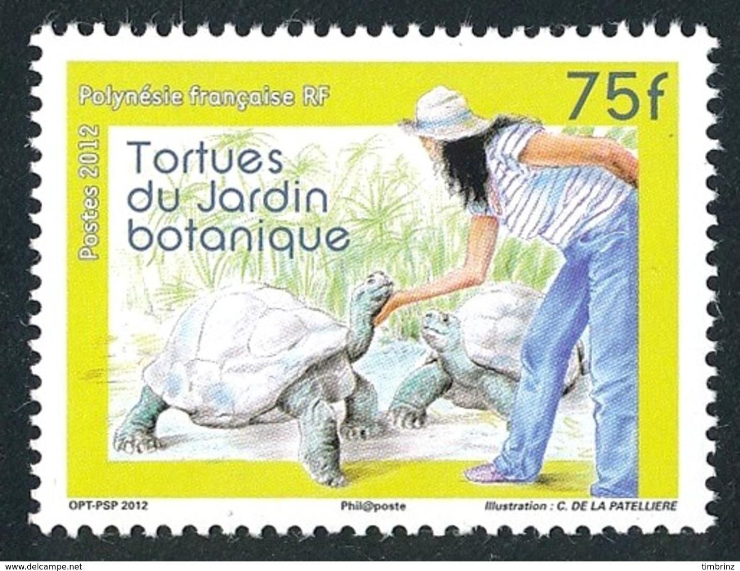 POLYNESIE 2012 - Yv. 1007 **  - Faune. Tortues Du Jardin Botanique  ..Réf.POL24931 - Polynésie Française