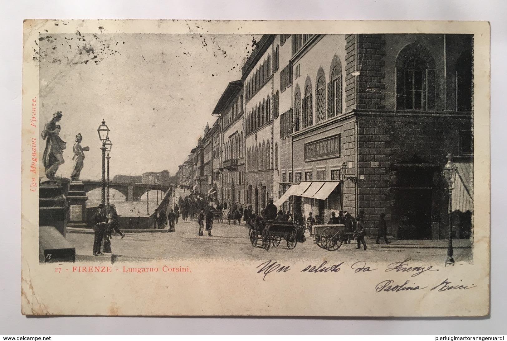 V 11048 Firenze - Lungarno Corsini - Firenze
