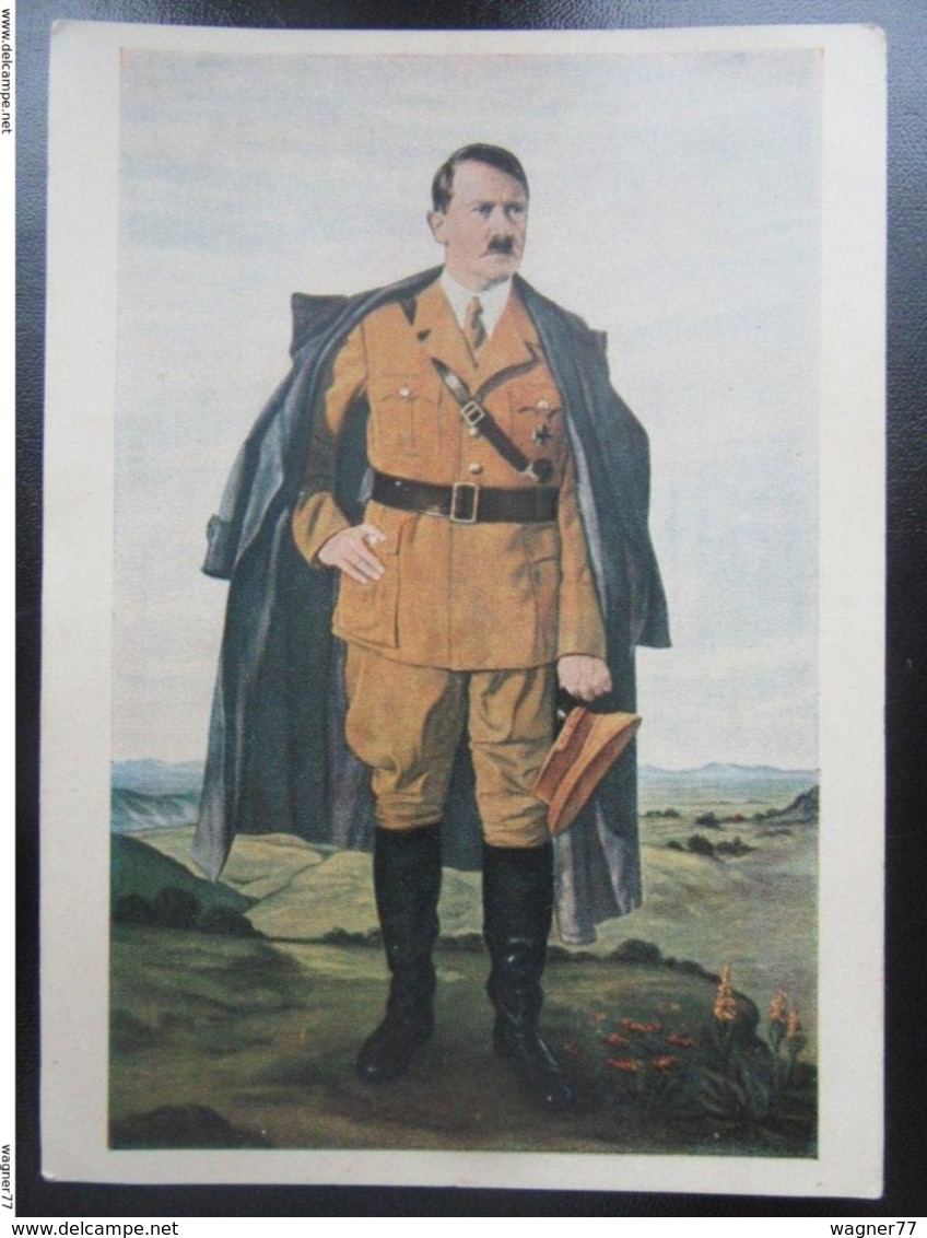Postkarte Propaganda Hitler - Hoffmann - Allemagne