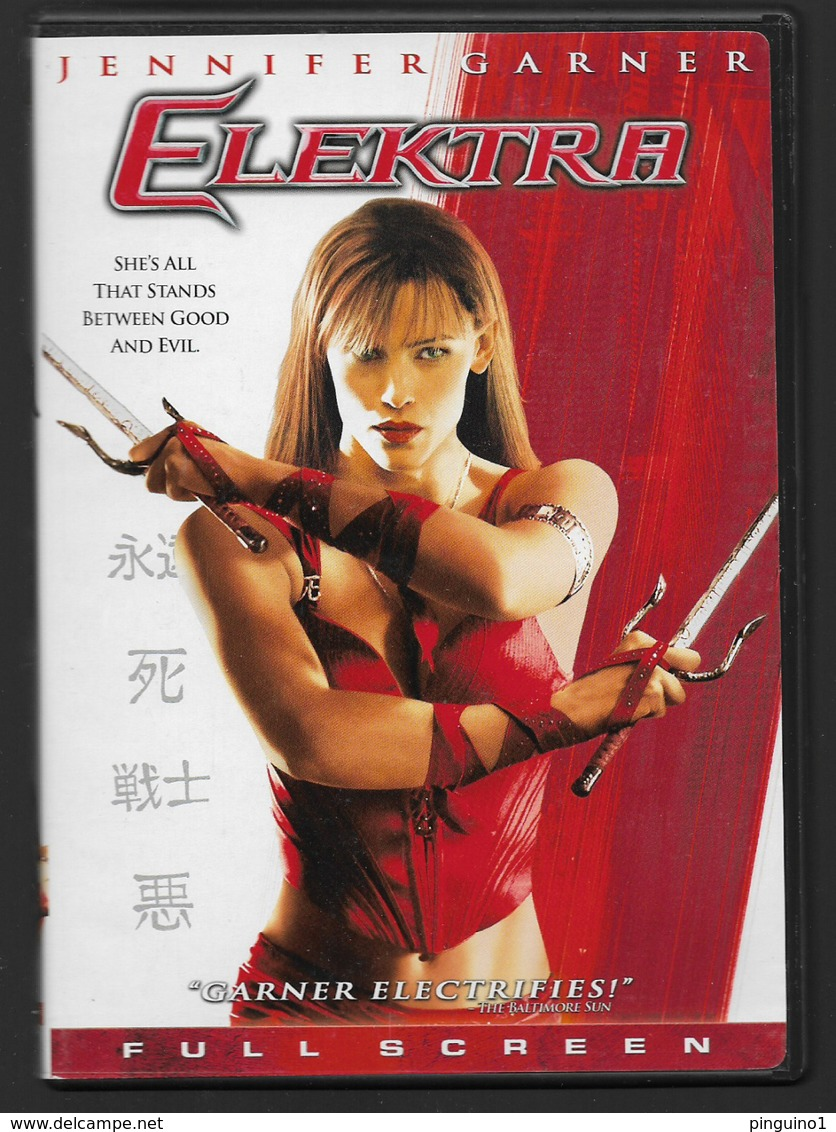 Dvd  Elektra - Sci-Fi, Fantasy