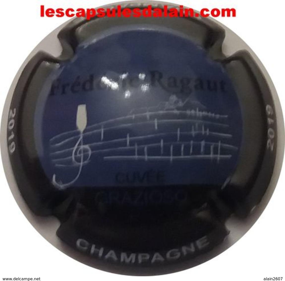 BELLE CAPSULE CHAMPAGNE RAGAUT FREDERIC CUVEE GRAZIOSO 2019 NEWS - Champagne