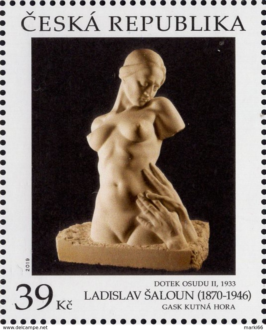 Czech Republic - 2019 - Art On Stamps - Ladislav Saloun - Mint Stamp - Neufs