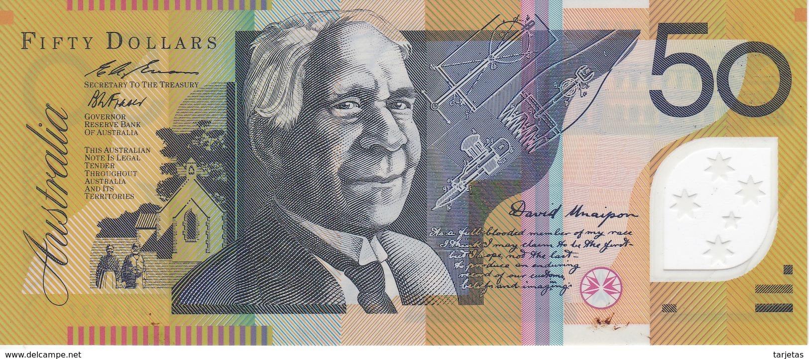BILLETE DE AUSTRALIA DE 50 DOLLARS DEL AÑO 1995 CALIDAD EBC (XF)  (BANKNOTE) - Emisiones Gubernamentales Decimales 1966-...