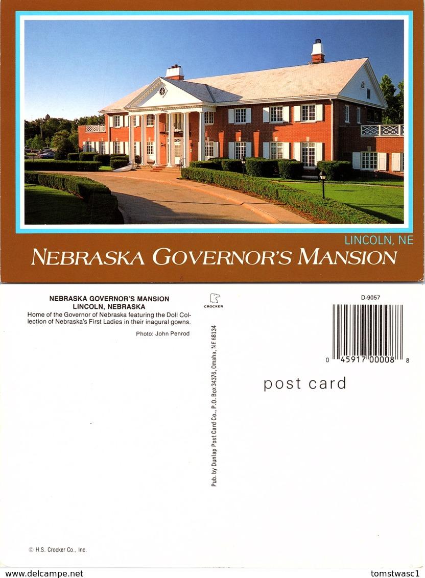Nebraska Governor's Manision, Lincoln, Nebraska - Lincoln