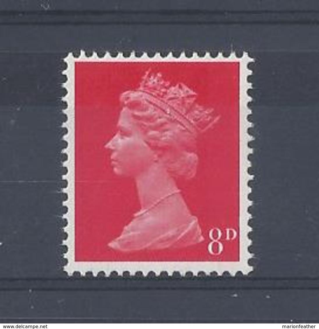 "GB..QUEEN ELIZABETH II.(1952-NOW)..."" MACHINS.."".......8d....SG738.......MNH.. - 1952-.... (Elizabeth II)"