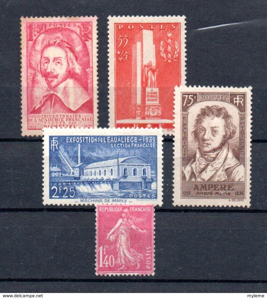 Lot De Timbres ** Côte 245 Euros. A Saisir !!! - Stamps