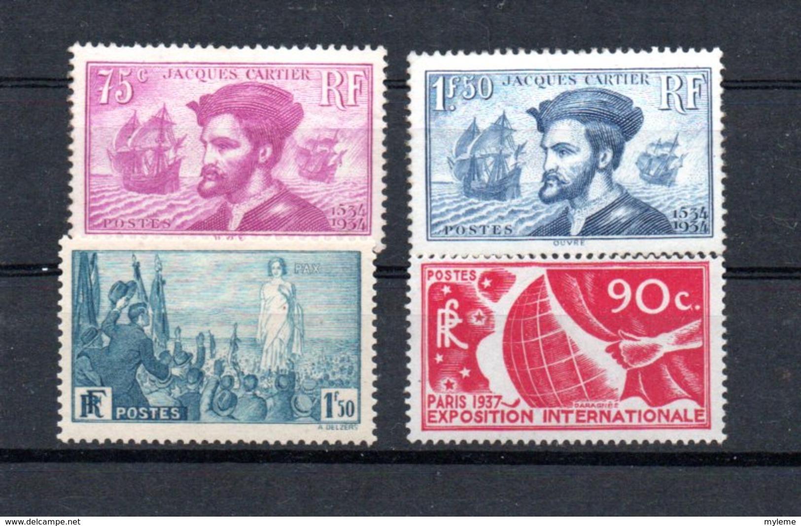 Lot De Timbres ** Côte 375 Euros. A Saisir !!! - Stamps