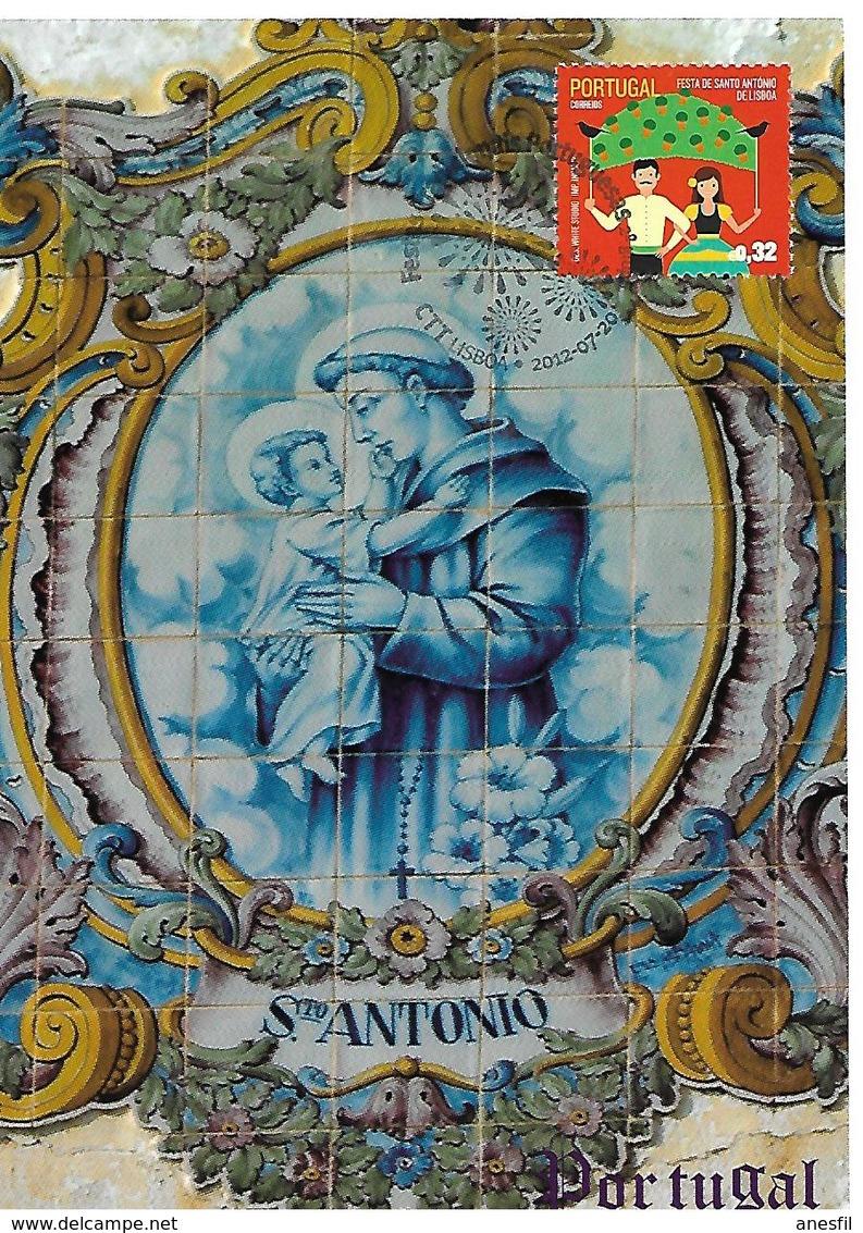 Portugal. 2012. San Antonio - 1910-... República