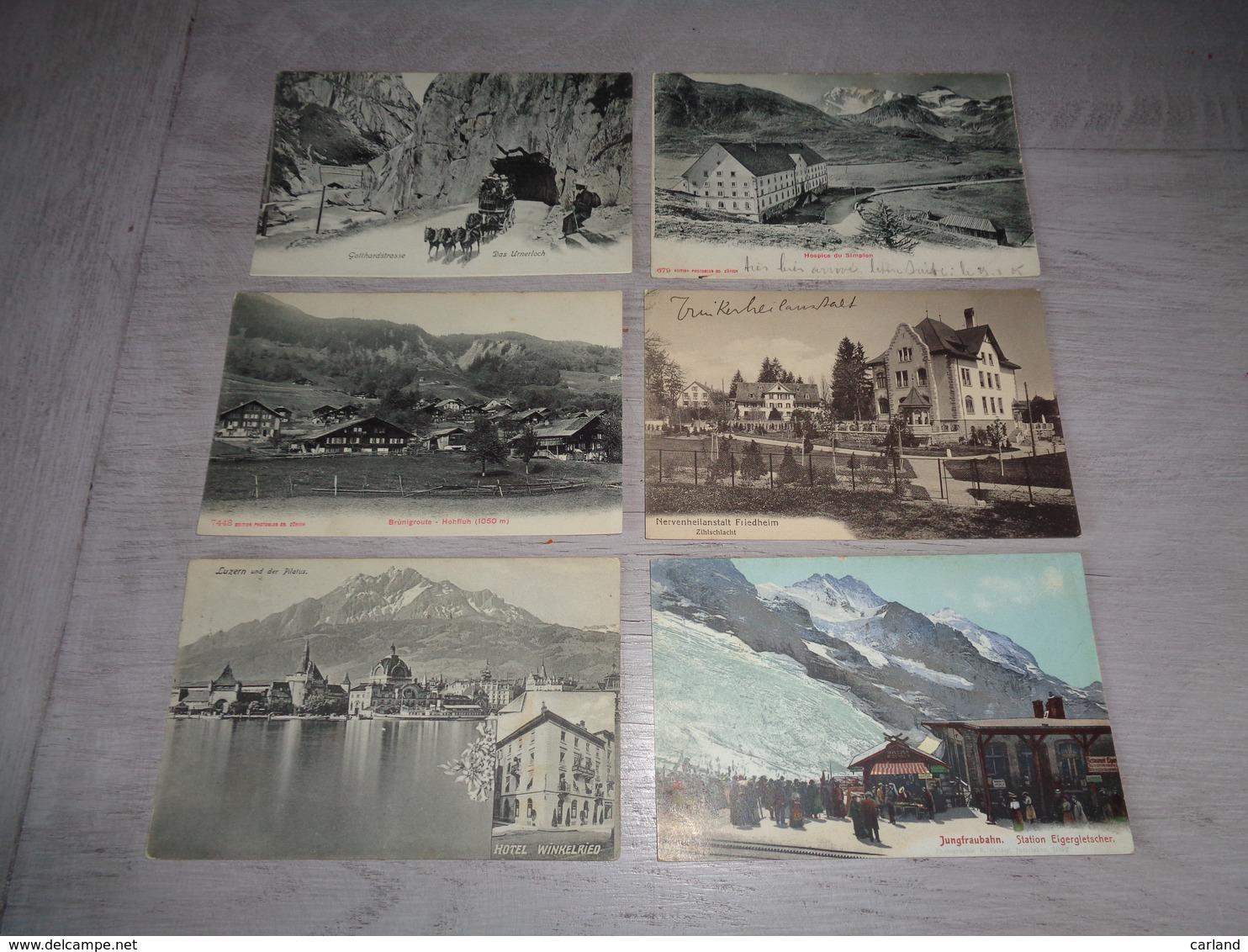 Lot De 60 Cartes Postales De Suisse    Lot Van 60 Postkaarten Van Zwitserland  Switserland  Svizzera  Sweiz - 5 - 99 Cartes