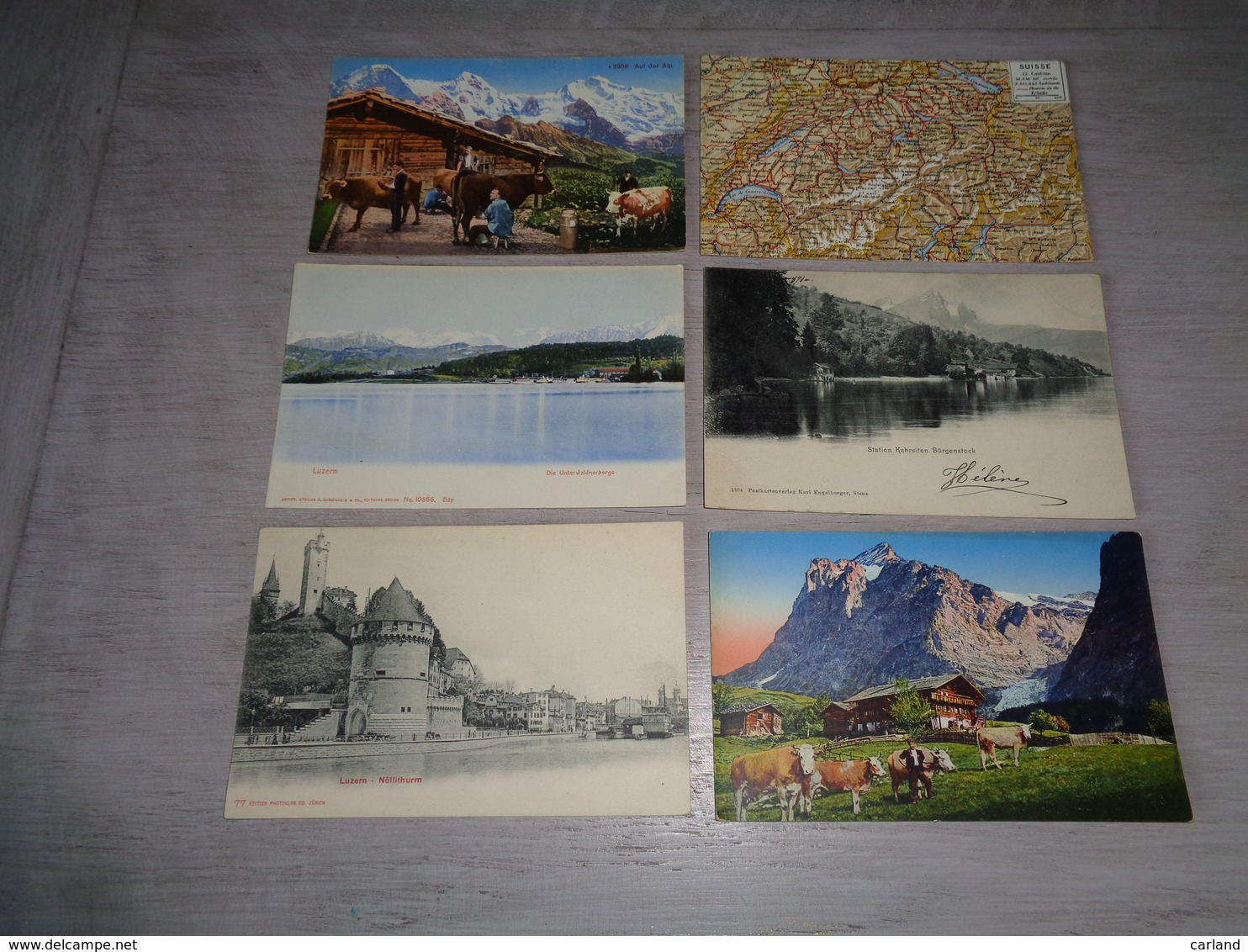 Lot De 60 Cartes Postales De Suisse    Lot Van 60 Postkaarten Van Zwitserland  Switserland  Svizzera  Sweiz - Ansichtskarten