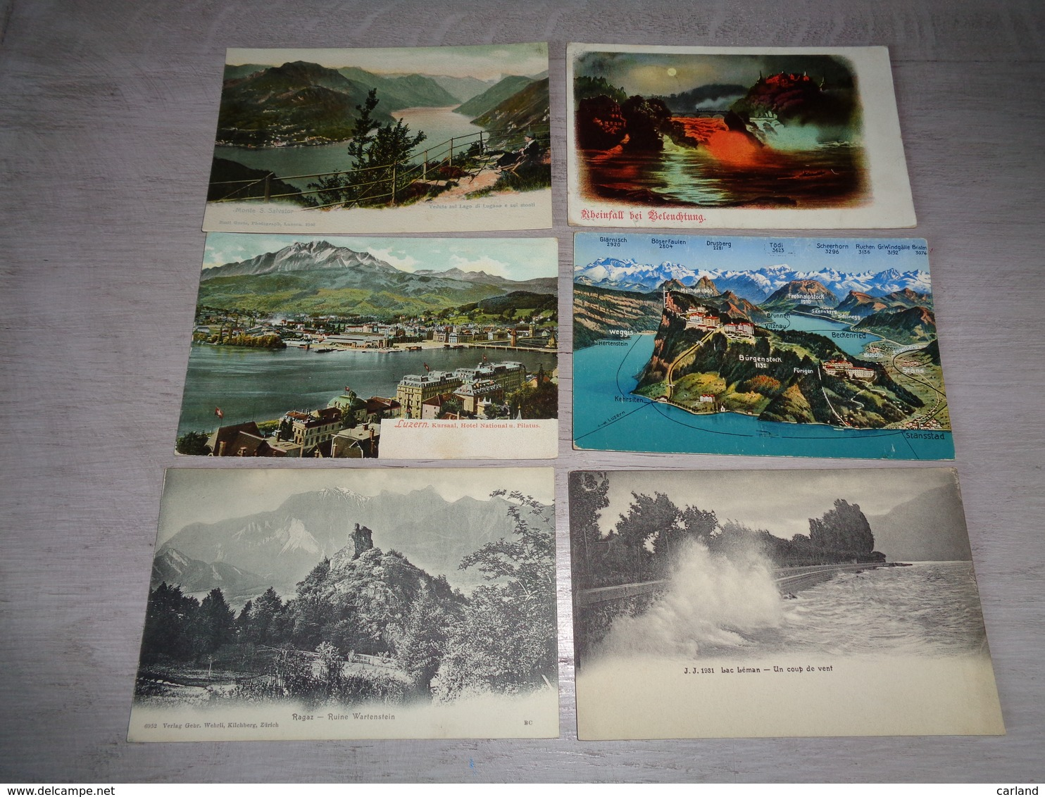 Lot De 60 Cartes Postales De Suisse    Lot Van 60 Postkaarten Van Zwitserland  Switserland  Svizzera  Sweiz - Cartes Postales