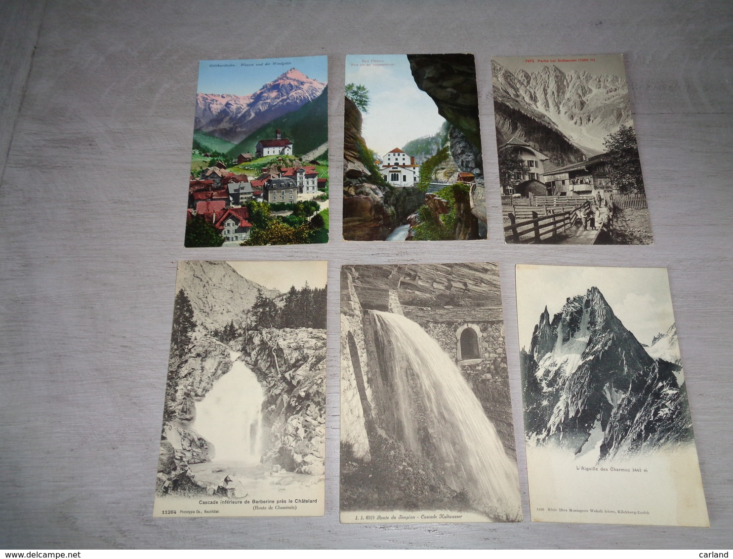 Lot De 60 Cartes Postales De Suisse    Lot Van 60 Postkaarten Van Zwitserland  Switserland  Svizzera  Sweiz - 5 - 99 Postkaarten