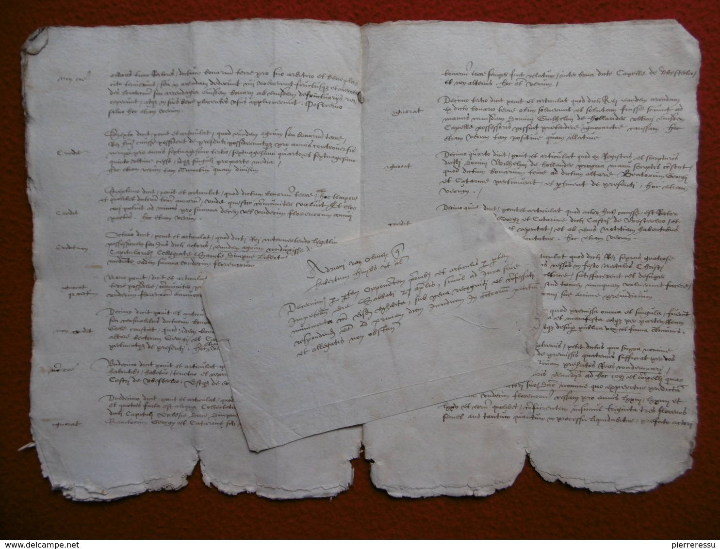 MANUSCRIT 1576 WESTERLO BELGIQUE VAN LYNDEN - Historical Documents