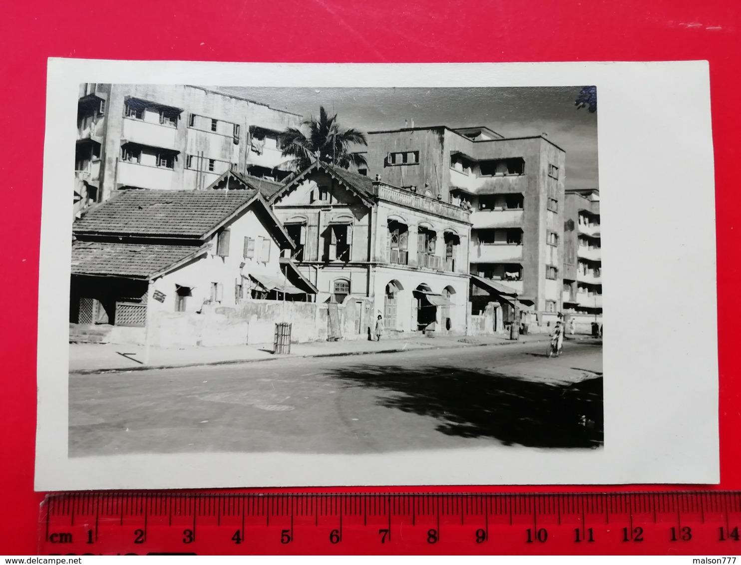 India Delhi Street Old House 1958 - Lieux