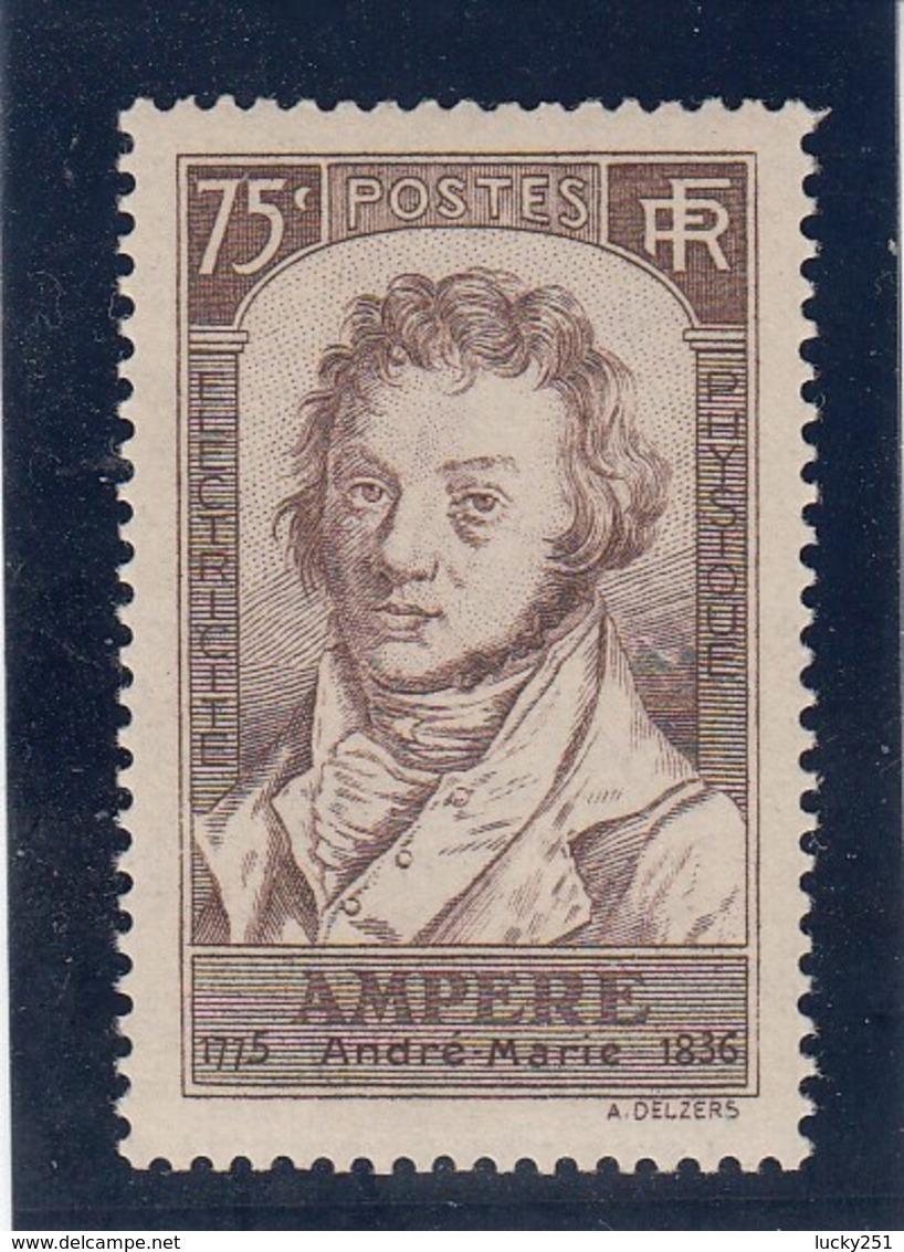 France - 1936 - N° YT 310** - André-Marie Ampère - Nuovi
