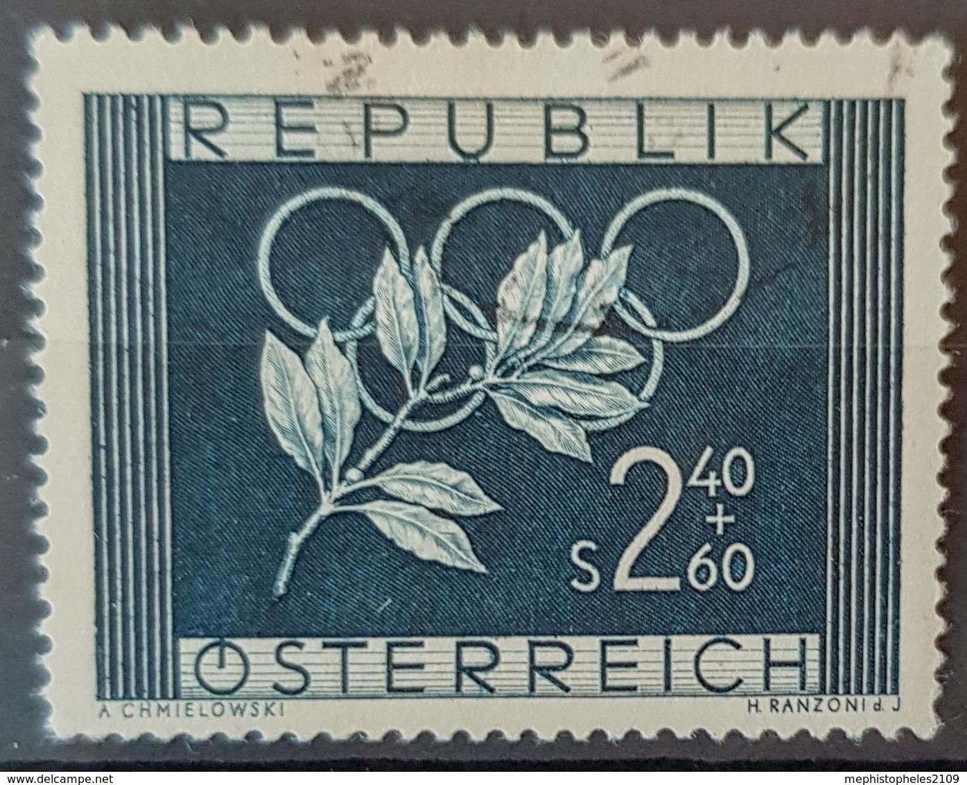 AUSTRIA 1952 - Canceled - ANK 985 - Olympia - 1945-.... 2. Republik