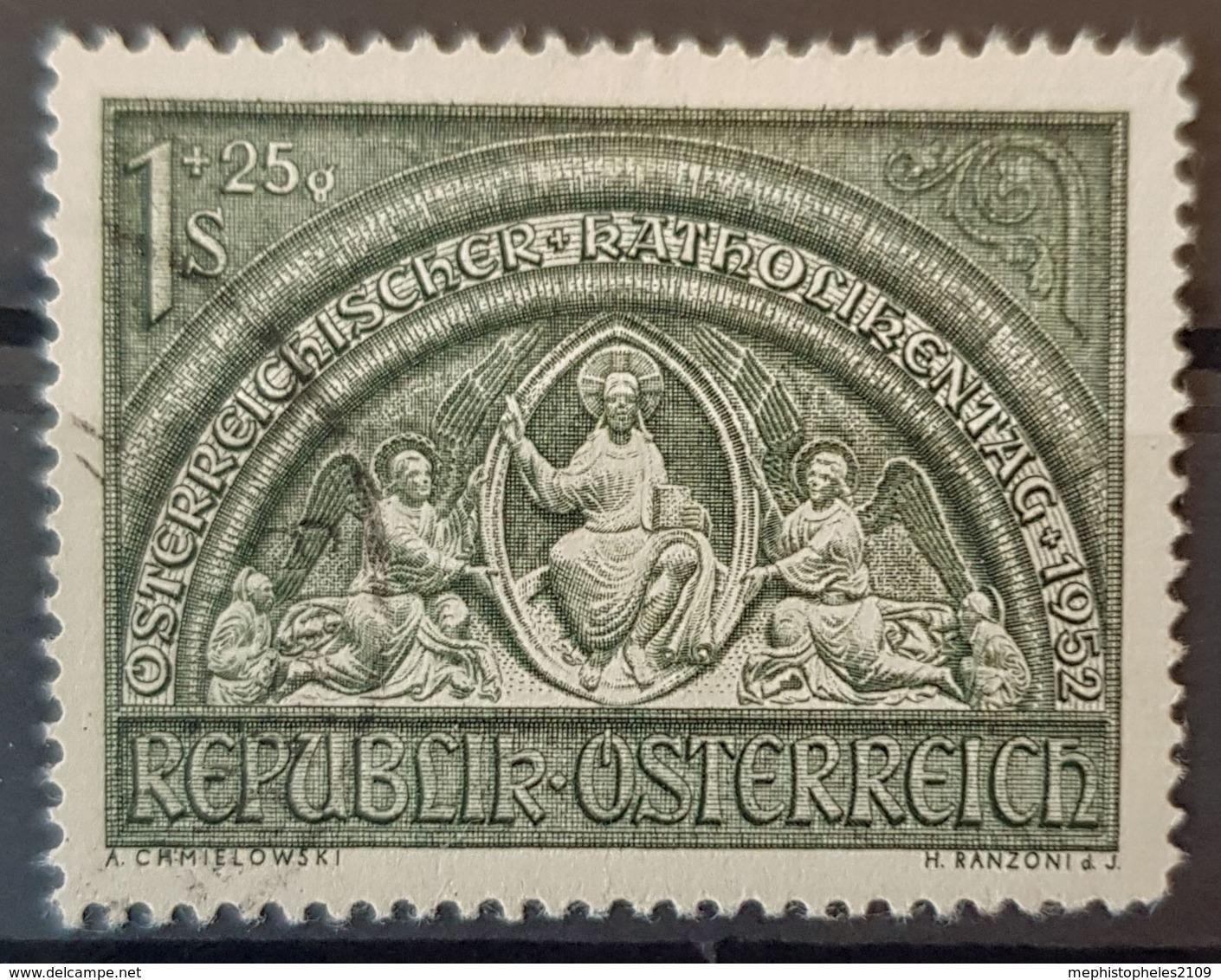 AUSTRIA 1952 - Canceled - ANK 992 - Katholikentag 1952 - 1945-.... 2. Republik