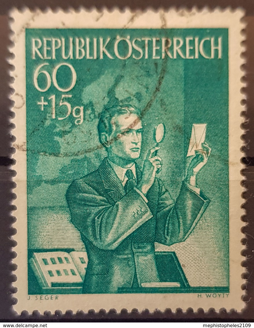 AUSTRIA 1950 - Canceled - ANK 974 - 60+15g - 1945-.... 2. Republik