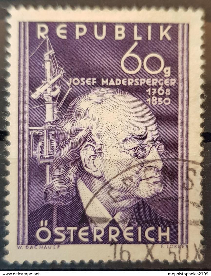 AUSTRIA 1950 - Canceled - ANK 963 - Madersperger - 1945-.... 2. Republik