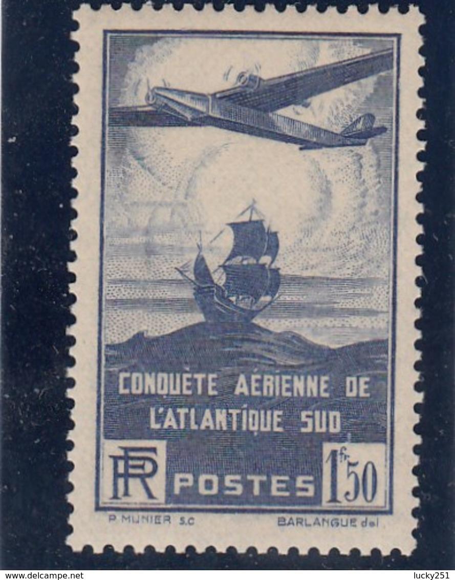 France - 1936 - N° YT 320** 100è Traversée Aérienne De L'Altantique Sud - Francia