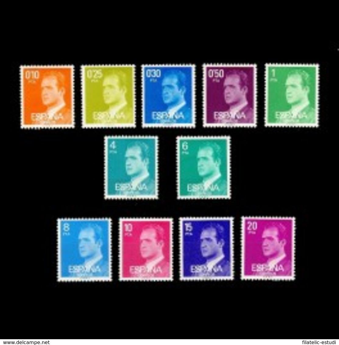 España Spain 2386/96 1977 SM Don Juan Carlos I, Lujo MNH - Spagna
