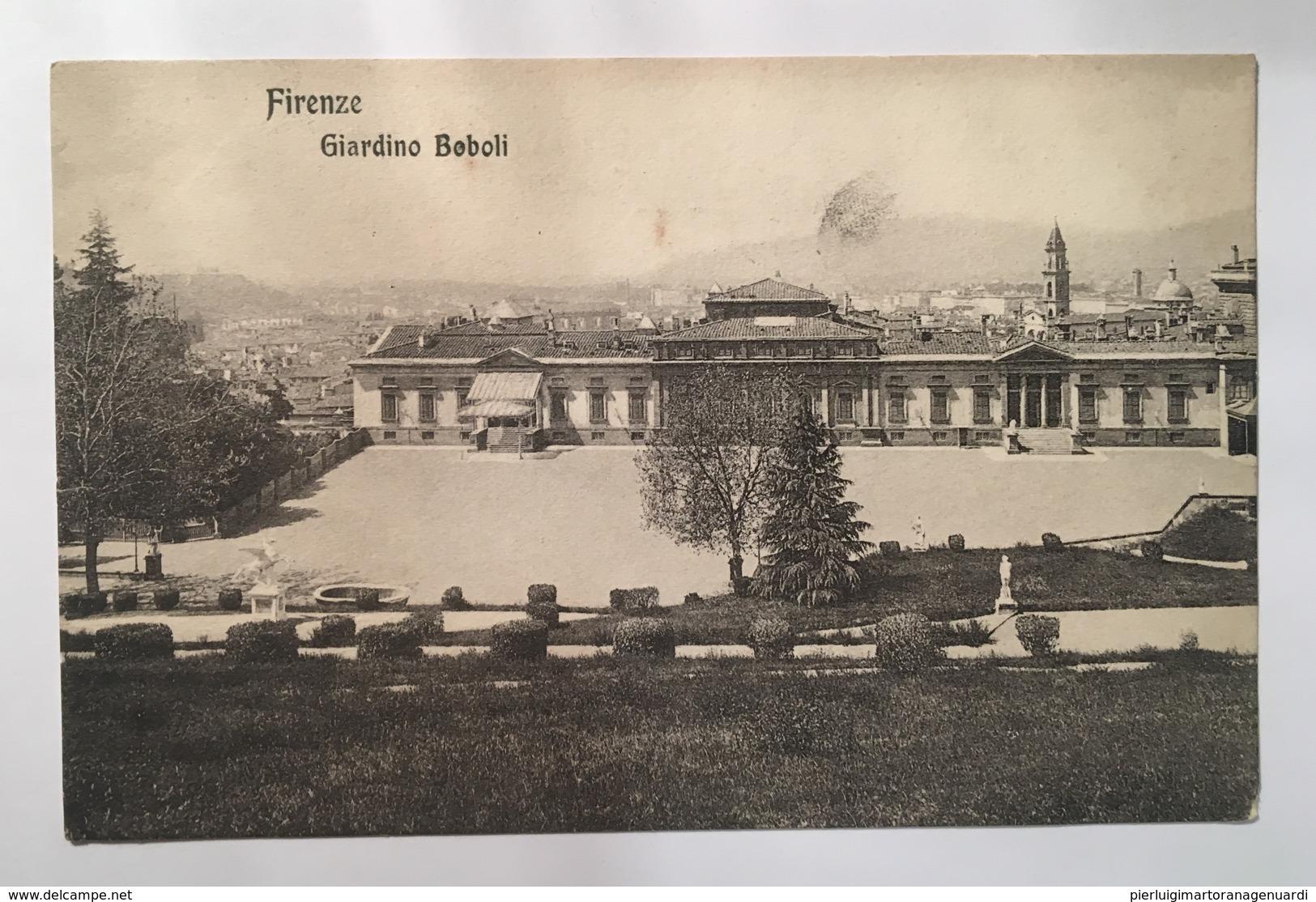 V 11111 Firenze - Giardino Beboli - Firenze