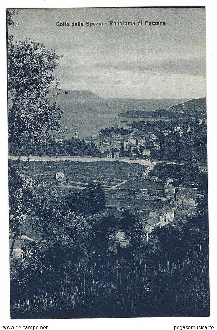 1491 - GOLFO DELLA SPEZIA PANORAMA DI FEZZANO 1920 CIRCA - La Spezia
