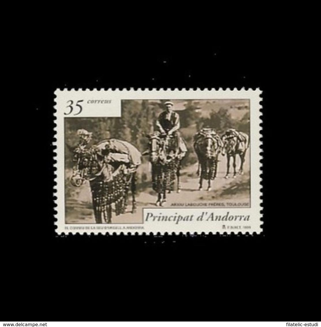 Andorra Española 270 1999 Historia Postal MNH - Spagna