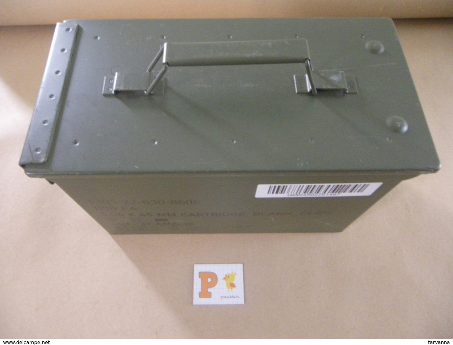 Caisse Munitions Métallique 5,56 Mm   (P) - Equipement