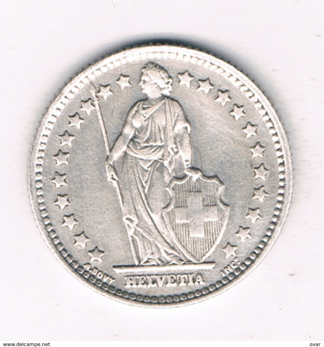 1  FRANC 1945  B ZWITSERLAND /8886/ - Suisse