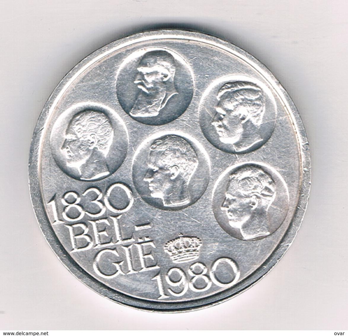500 FRANK 1980 VL BELGIE /8888/ - 1951-1993: Baudouin I