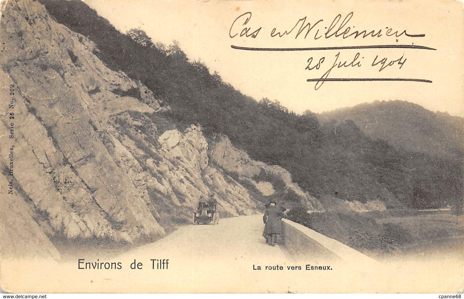 Environs De Tilff - 1904 - La Route Vers Esneux - Esneux