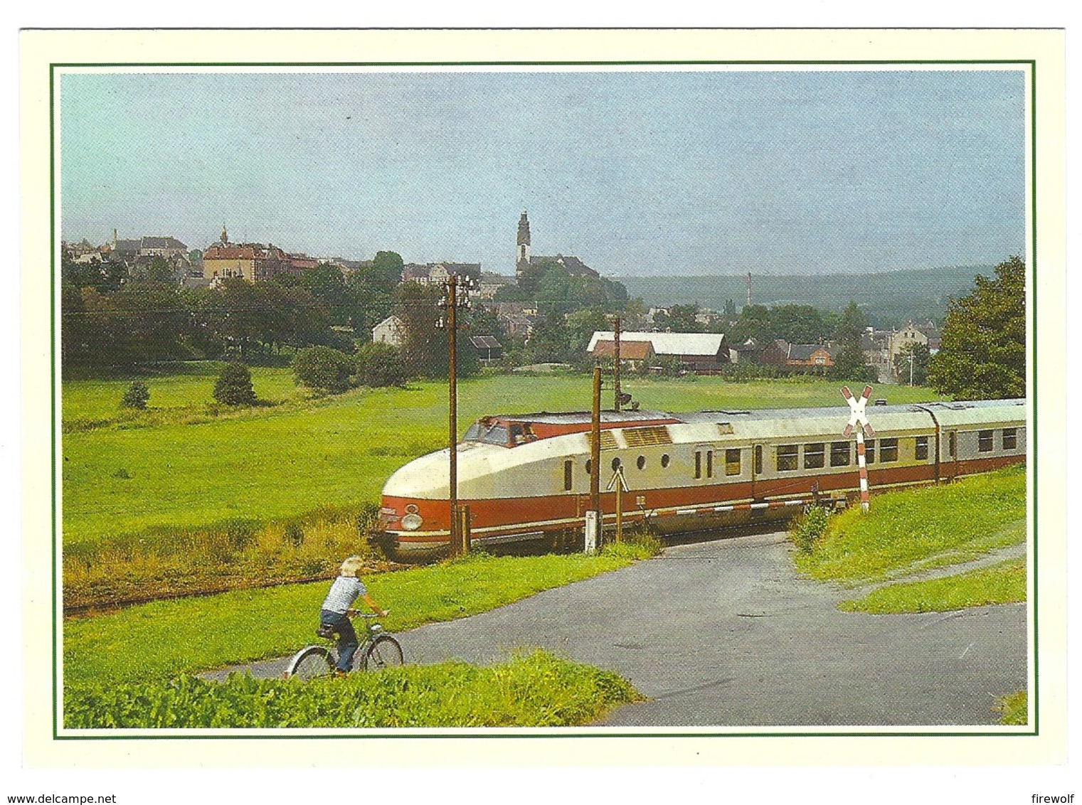 X08 - Germany - Karlex At Adorf - Eisenbahnen