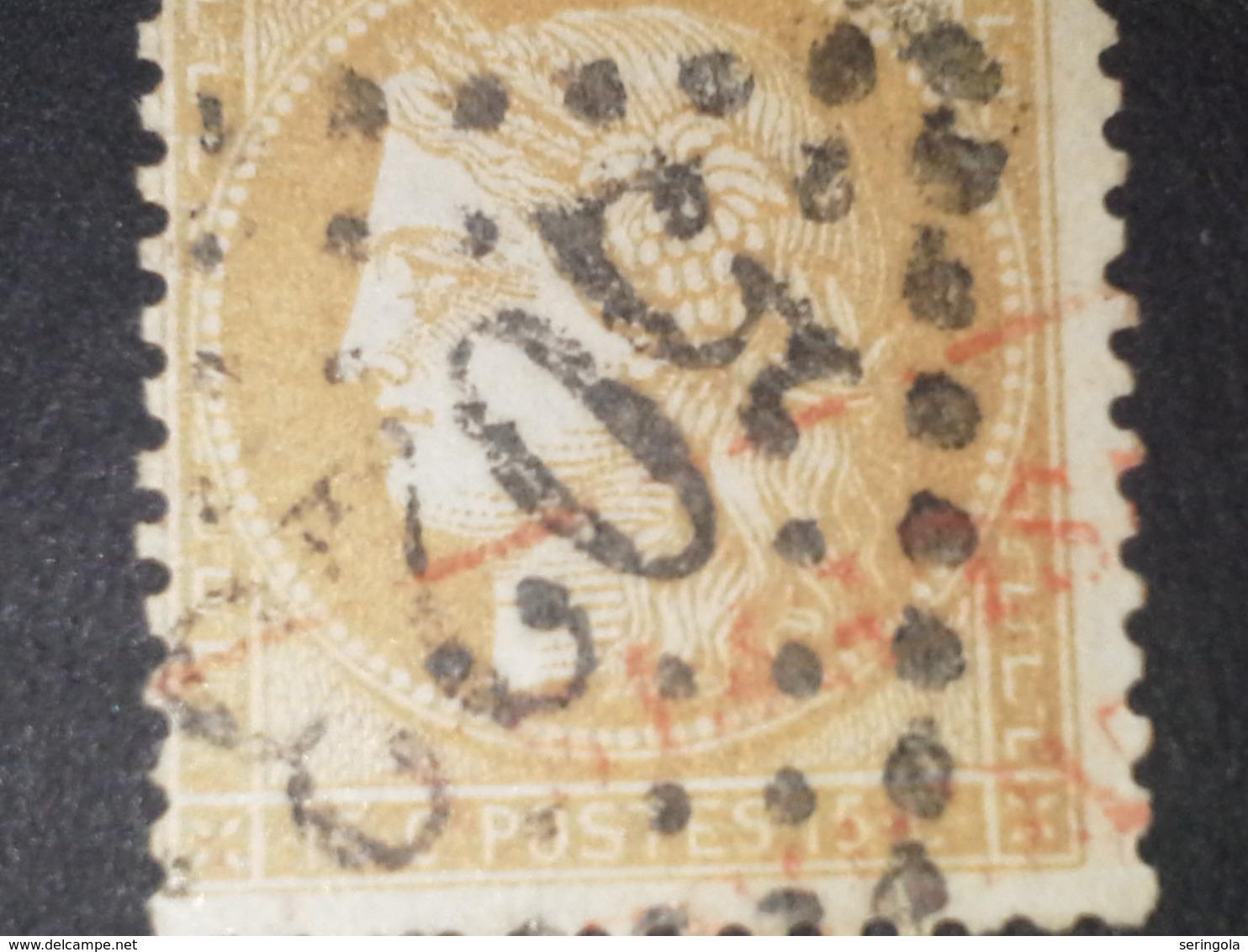Nº55   III Republique  15c. Obl. - 1871-1875 Ceres