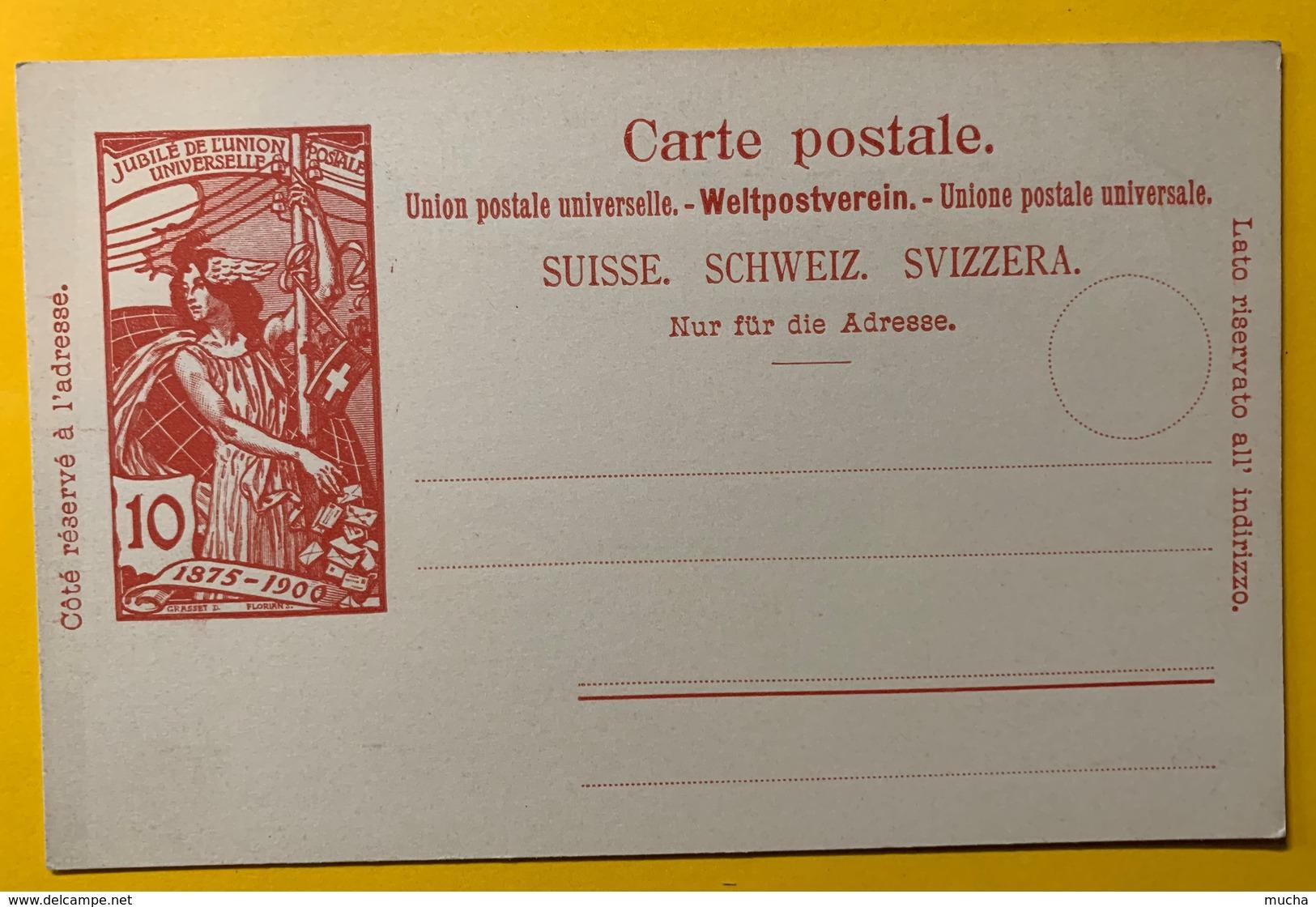 9282 - Jubilé UPU 10 Ct Carmin Neuf - Entiers Postaux