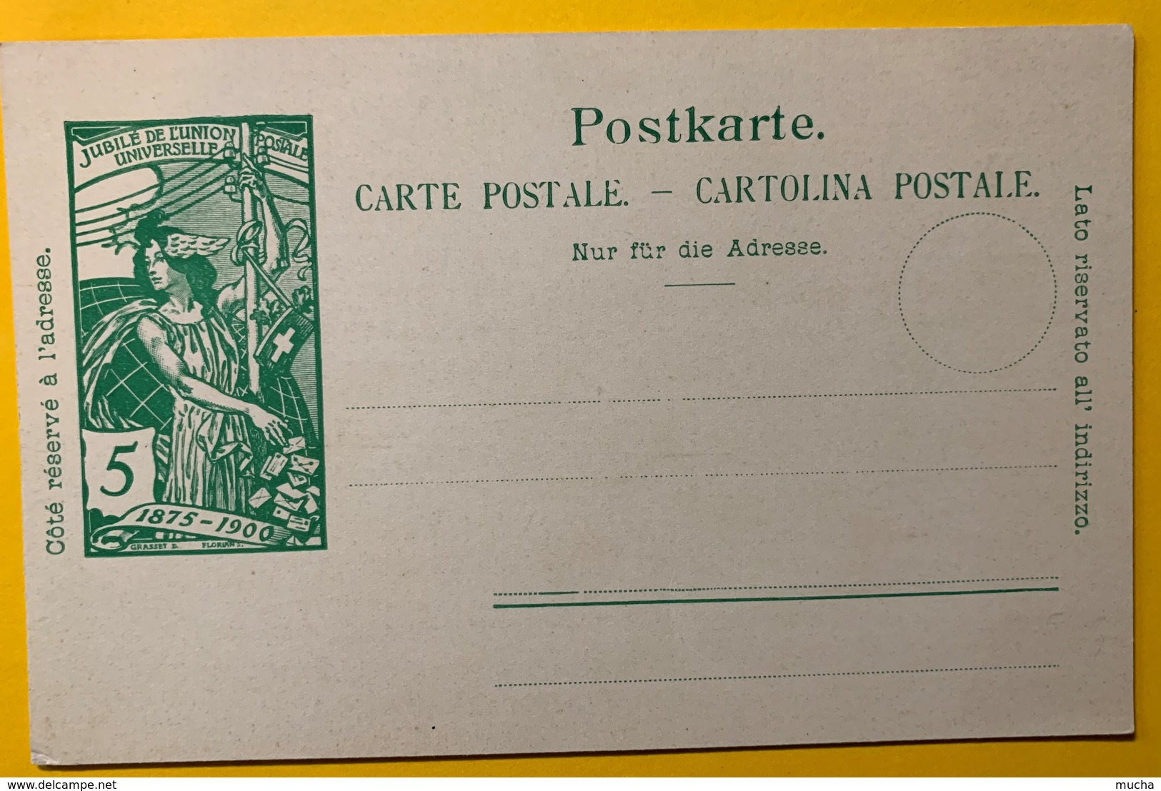 9284 - Jubilé UPU 5 Ct Vert Neuf - Entiers Postaux