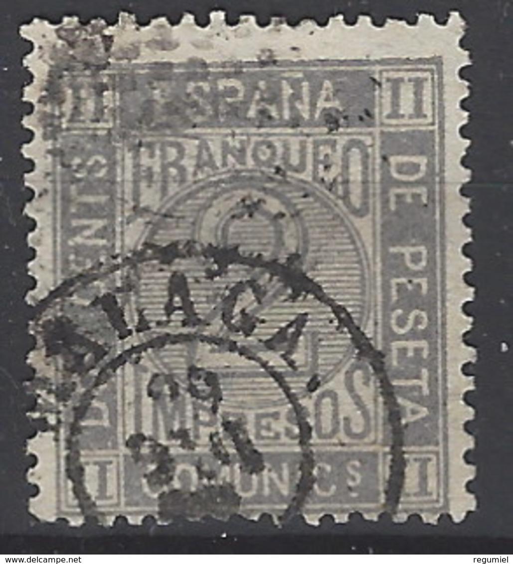 España U 0116 (o) Cifra. 1872. Foto Exacta - 1872-73 Reino: Amadeo I