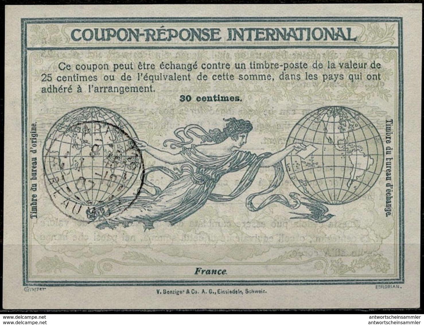 Sammlung + Bestand 12.000+ Internationale Antwortscheine Weltweit Ab 1907 / 12.000+ Reply Coupon Réponse IAS IRC - Briefmarken