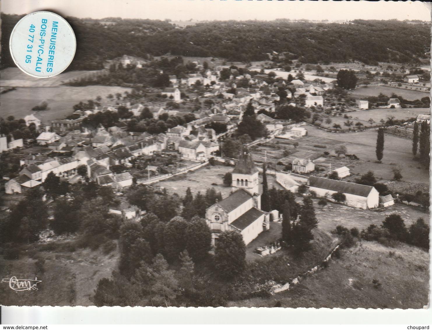 46 - Très Belle Carte Postale Semi Moderne De   CAZALS   Vue Aérienne - Cazals