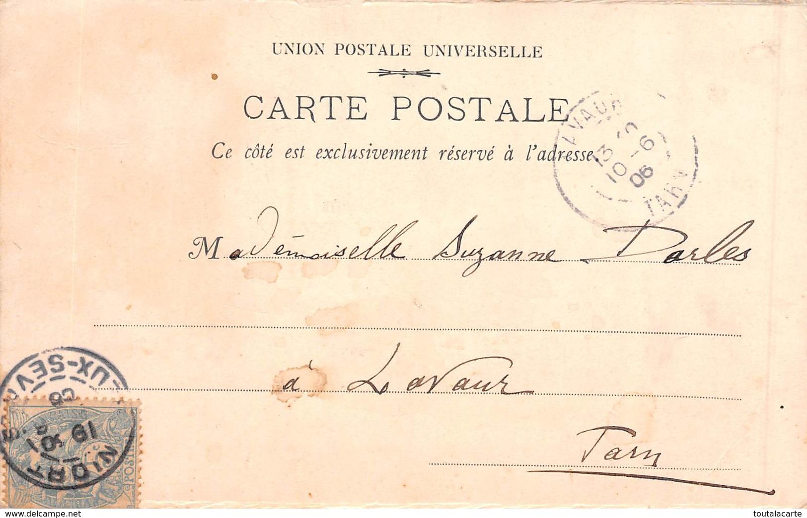 CPA FEMME A LA CIGARETTE 1906 - Donne