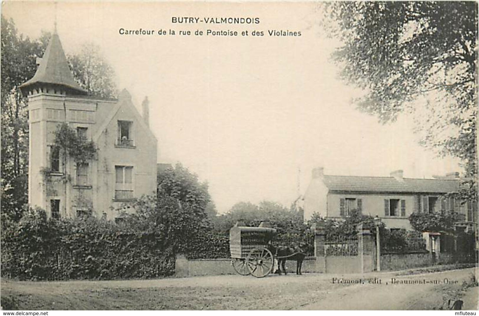 95* BUTRY  VALMONDOIS  Rue De Pontoise Et Ds Voisines   MA98,0803 - France