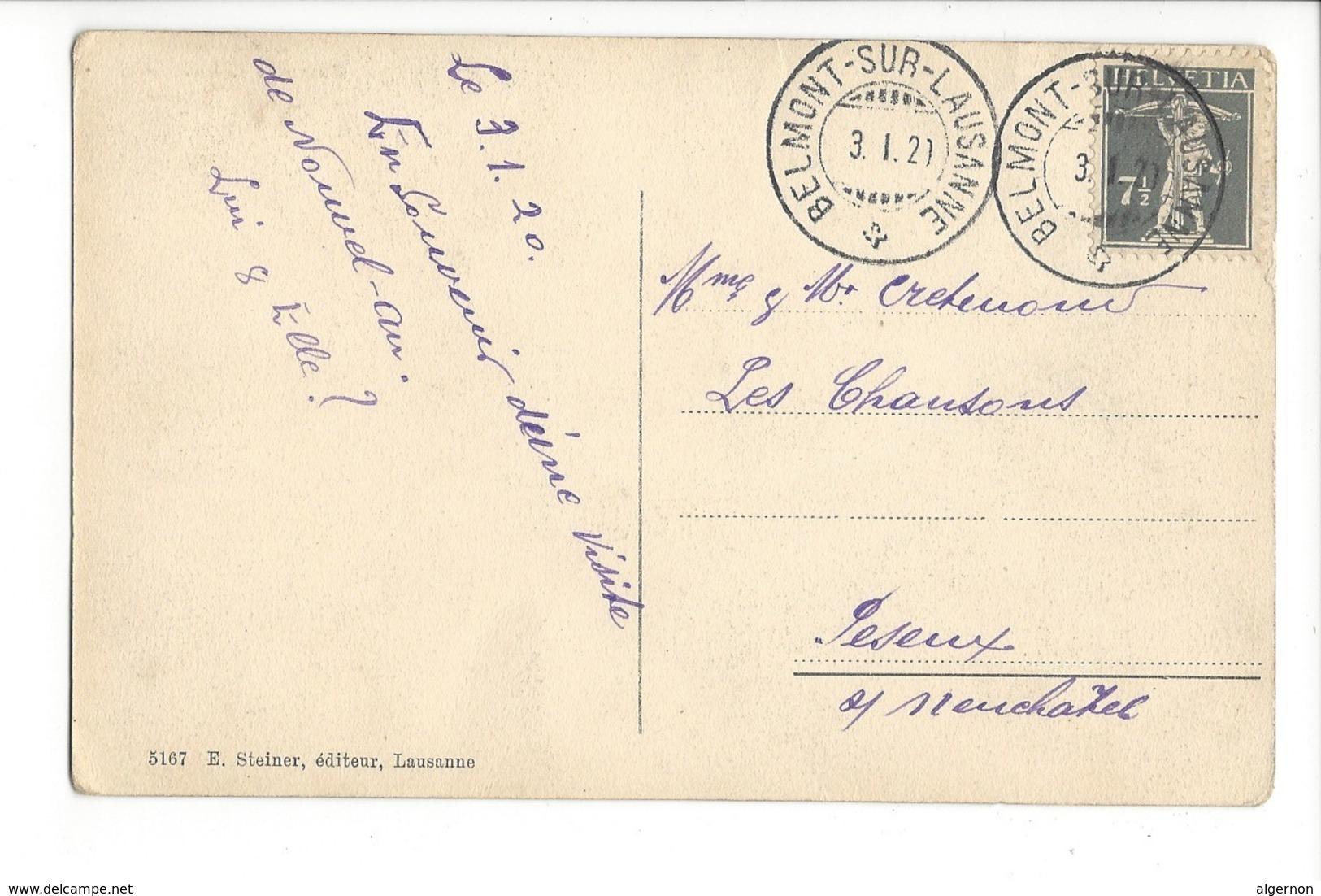23649 - Belmont S. Lausanne Pinte Communale - VD Vaud