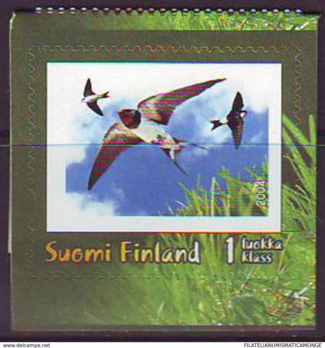 Finlandia 2004  Yvert Tellier  1670 Golondrinas ** - Finland