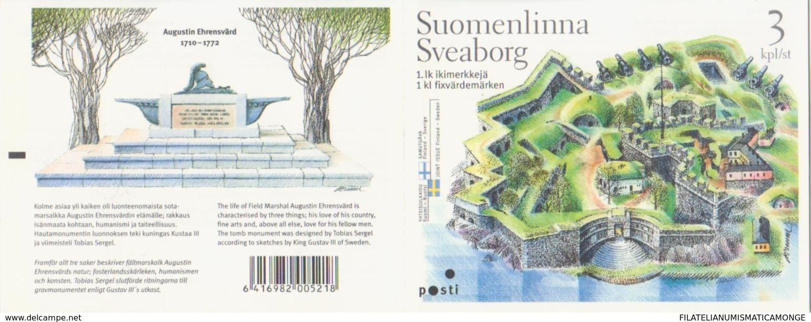 Finlandia 2006  Yvert Tellier  1774/76 C. Suomenlinna ** - Unused Stamps