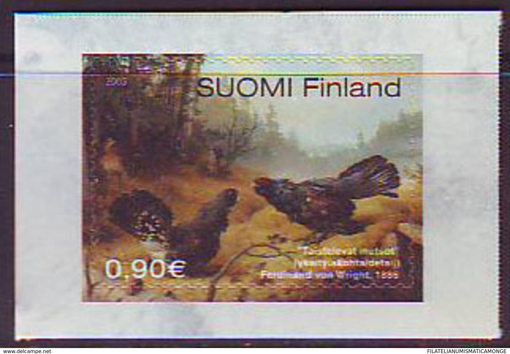Finlandia 2003  Yvert Tellier  1614 Pintura Ferdinand Von Wright ** - Unused Stamps