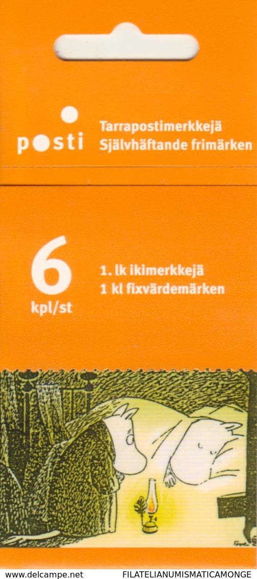 Finlandia 2003  Yvert Tellier  1615.C Las Moumines/ilustraciones Crn ** - Finland