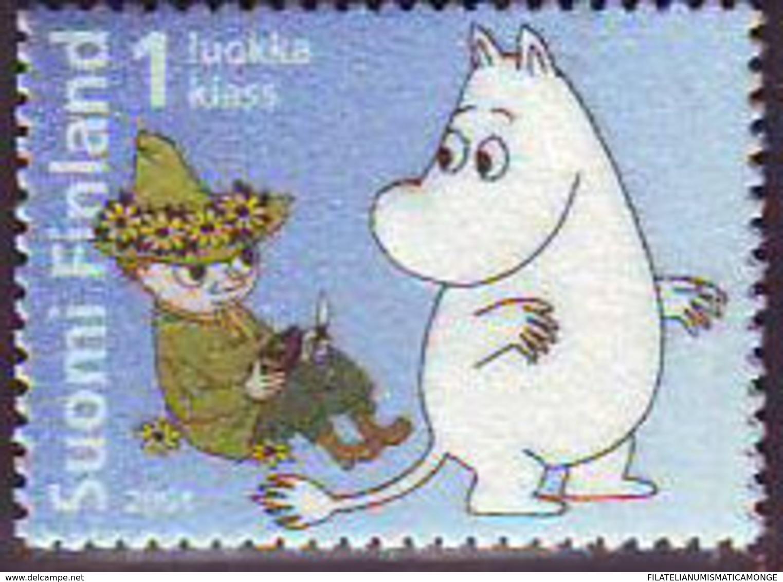 Finlandia 2004  Yvert Tellier  1681 Los Moomin ** - Finland