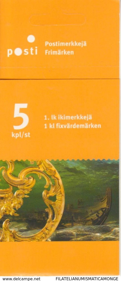 Finlandia 2004  Yvert Tellier  1682/86 Golfo De Finlandia (5s) ** - Finland