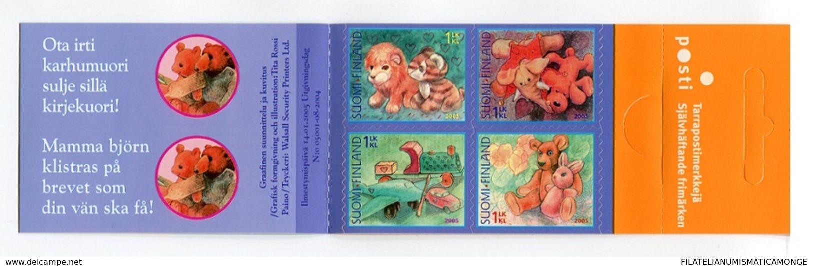 "Finlandia 2005  Yvert Tellier  1693.C Sellos Para Saludos Amistosos ""juguetes"" - Unused Stamps"