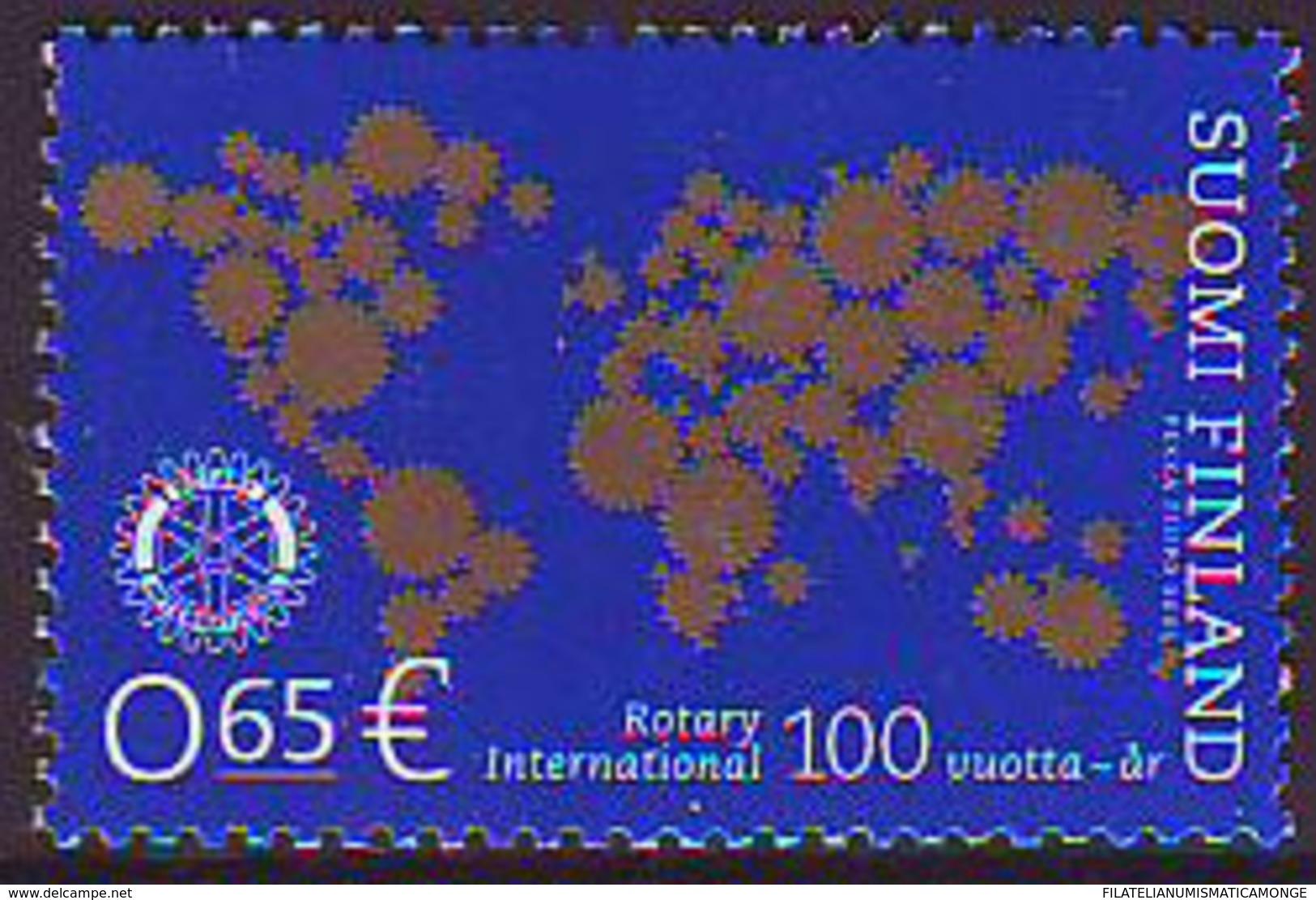 Finlandia 2005  Yvert Tellier  1701 100A Del Rotary Club Internacional ** - Finland